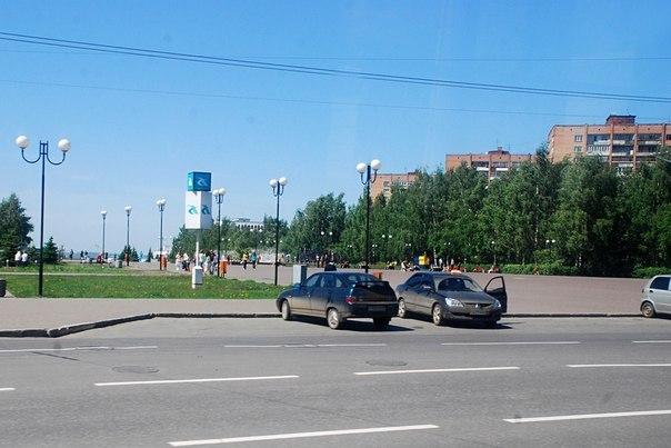В Ижевске с центральных улиц увозят машины