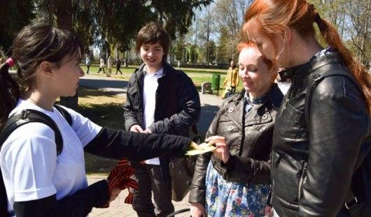 В Ижевске снова будут раздавать Георгиевские ленты