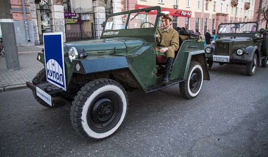 Автомобиль коллекционера из Ижевска примет участие в параде Победы 9 мая