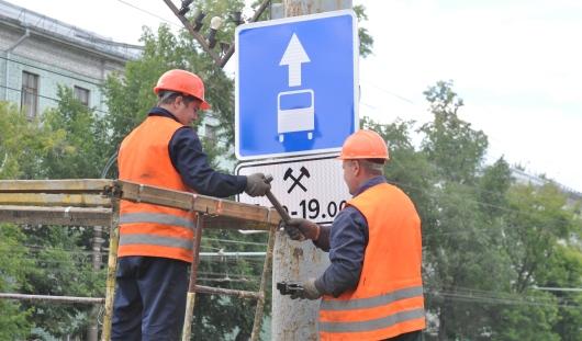 Полосы для общественного транспорта в Ижевске сделают ближе к лету