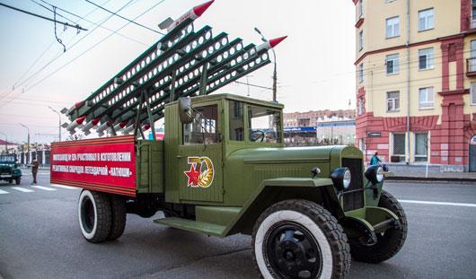 Какая техника примет участие в Параде Победы в Ижевске