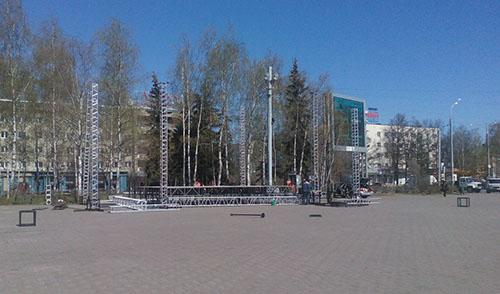 В Ижевске идут последние приготовления к Дню Победы