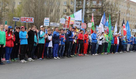 9 мая в Ижевске прошла 66-я легкоатлетическая Эстафета Мира