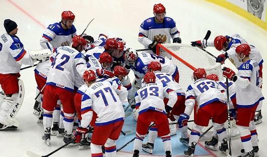 Российская хоккейная сборная обыграла Словакию на ЧМ-2015