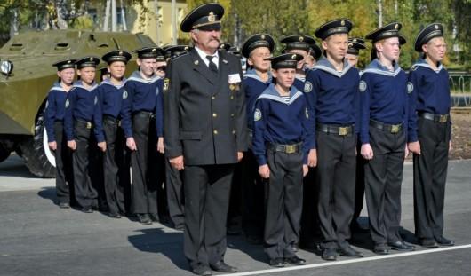 Кадеты из Воткинска побывали на параде в Севастополе