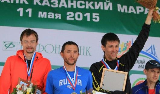 Удмуртский легкоатлет занял третье место на чемпионате России по марафону