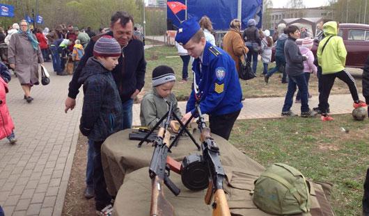 Как прошел День Победы в районах Ижевска