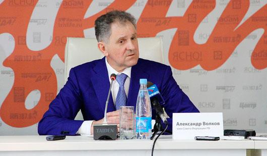 Сенатор от Удмуртии Александр Волков: Я не в восторге от решения Агашина