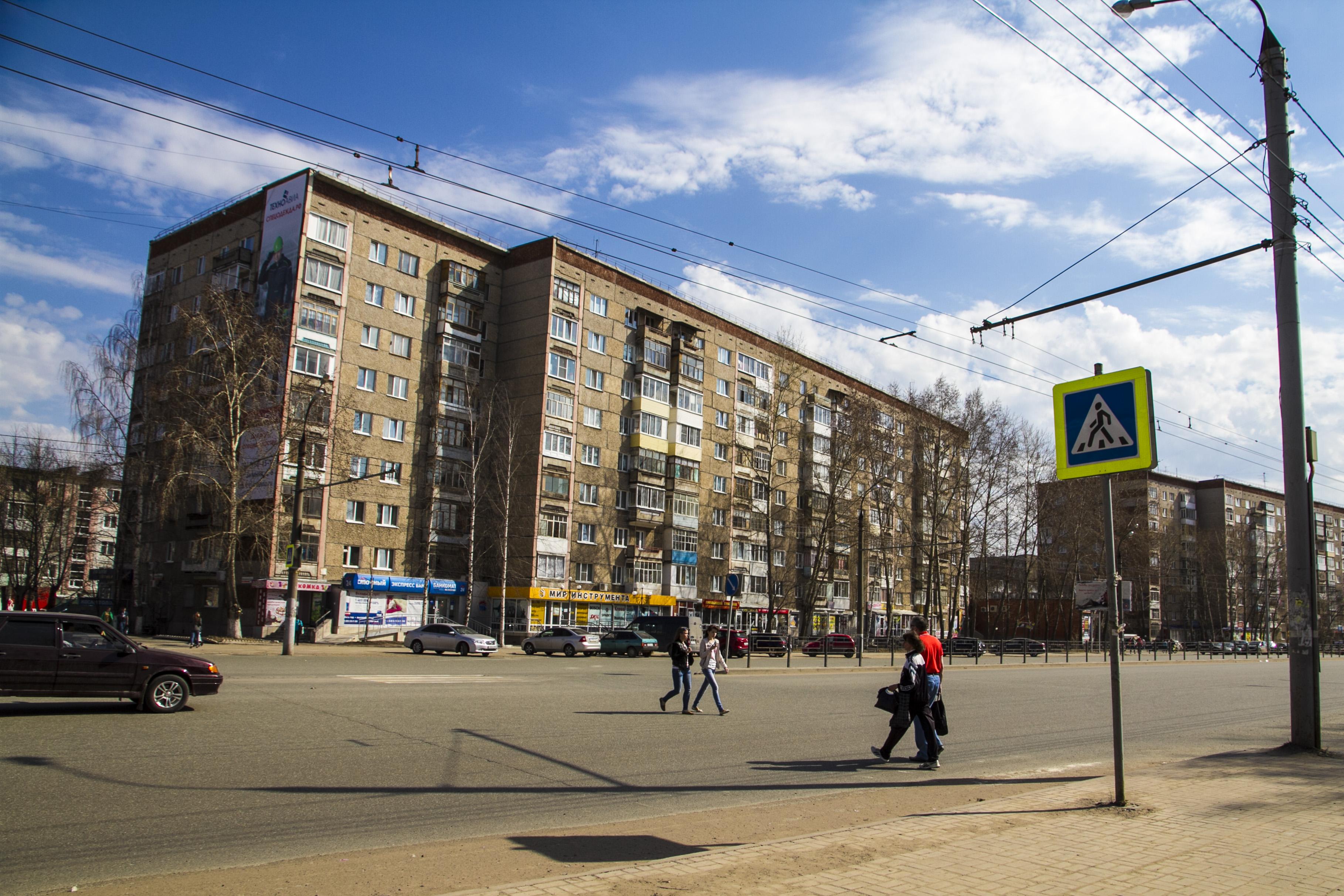В Ижевске планируют перенести 3 пешеходных перехода