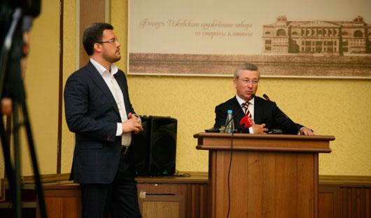 Денис Агашин простился с Администрацией Ижевска