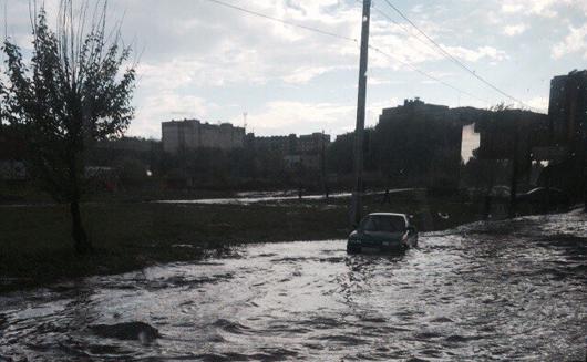 Виктор Савельев велел разобраться с потопом в Ижевске после дождя