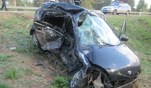 В Малопургинском районе в ДТП погибли три женщины
