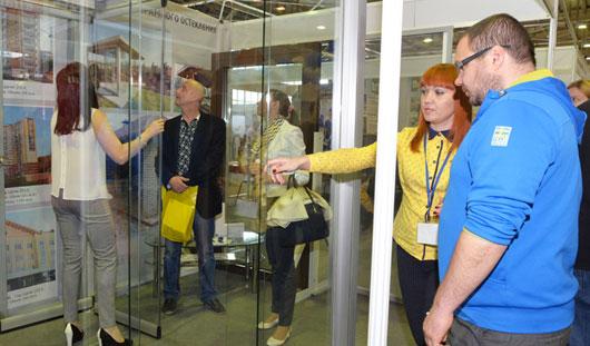 С прогрессивными технологиями строительства и ремонта знакомятся посетители выставки «Город XXI века» в Ижевске