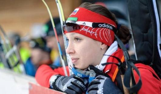 Ульяна Кайшева отправилась на сборы в составе сборной России по биатлону