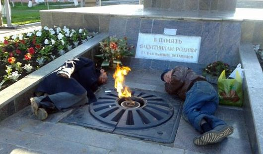 Личности мужчин, спавших возле Вечного огня в Воткинске, установлены