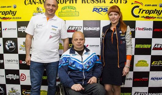 В Ижевске в гонках на квадроциклах Can-am Trophy выступит депутат Госдумы России