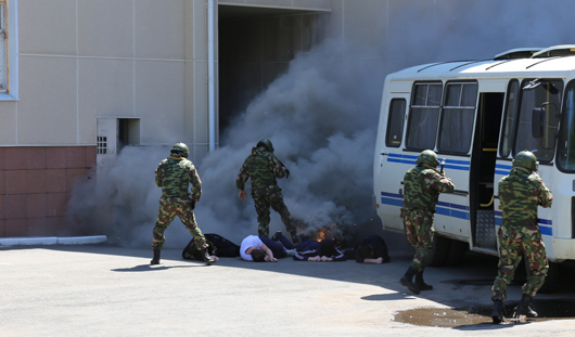 В Ижевске прошли антитеррористические учения