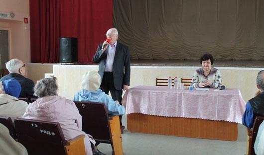 В Ижевске прошел семинар для волонтеров проекта «Белая трость-2»