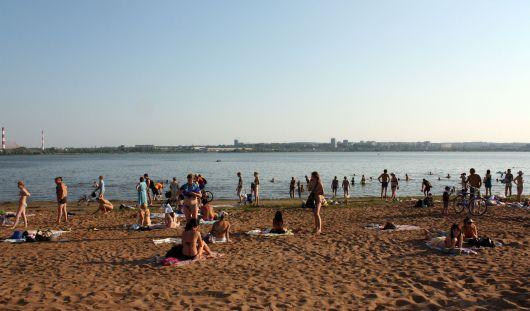 В Ижевске 1 июня откроют городской пляж