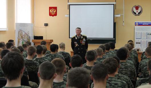 В Ижевске прошли «Уроки мужества» в рамках проекта «Опаленное детство»