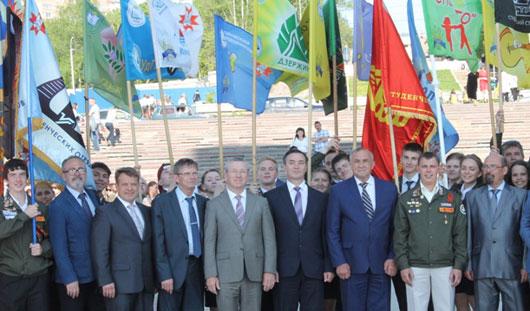 В Ижевске студенческие отряды открыли очередной трудовой сезон