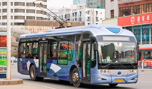 Для Ижевска приобретут китайские троллейбусы