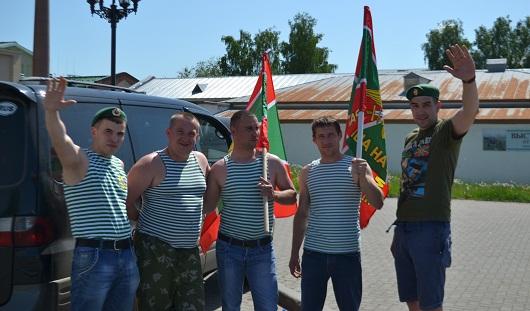 В Ижевске отмечают День пограничника