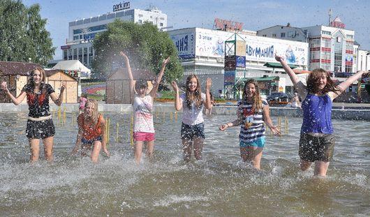 В выходные в Ижевске ожидается аномально жаркая погода