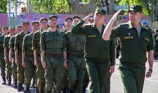 Сегодня новая партия призывников из Ижевска отправилась на срочную службу