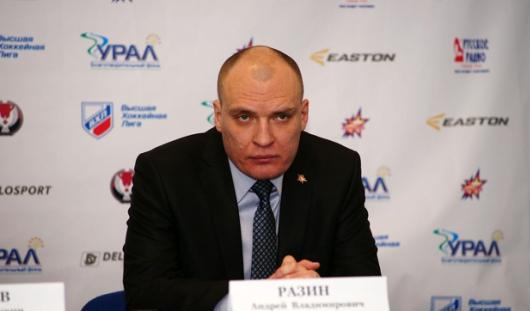 Бывший тренер «Ижстали» Андрей Разин стал лучшим тренером в ВХЛ