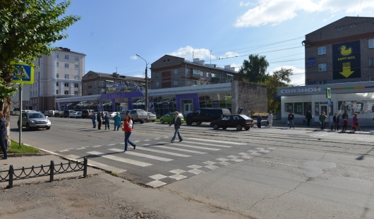 В Ижевске могут появиться новые «приподнятые» пешеходные переходы