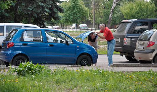 Как защитить в жару свой автомобиль?