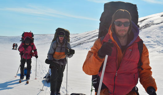 1000 километров на лыжах к самой северной точке Евразии: арктическое путешествие ижевчанина