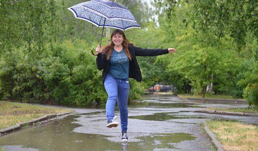 В выходные в Ижевске ожидаются небольшие дожди