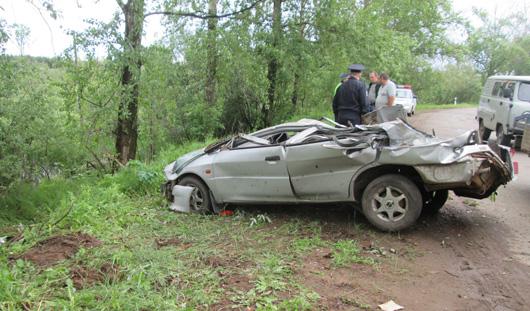 В Удмуртии два человека погибли в аварии