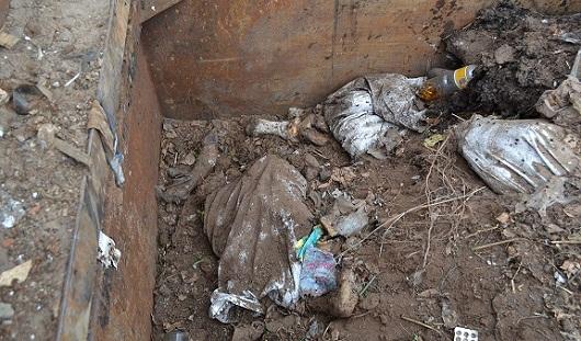 В Ленинском районе Ижевска обнаружена несанкционированная свалка