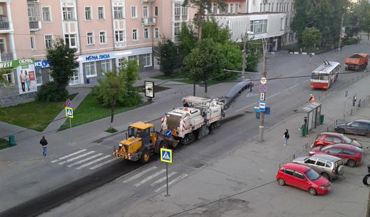 В Ижевске начали ремонтировать улицу Советскую
