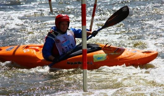 На ижевской плотине прошли соревнования на байдарках