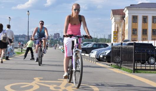 В Ижевске появится велодорожка, которая свяжет район Старого аэропорта и Центр