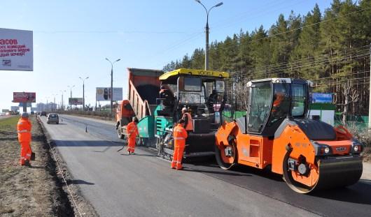 В Ижевске на данный момент ремонтируют 8 участков дорог
