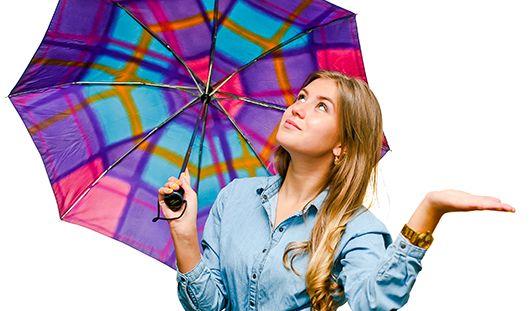 Небольшие дожди будут идти в Ижевске все выходные
