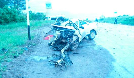 18-летняя девушка погибла в аварии в Удмуртии
