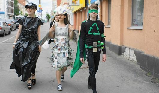 В Ижевске появились супергерои экологии