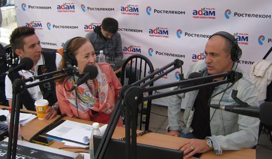 Ижевчане увидели, как проходит эфир на Радио «Адам»