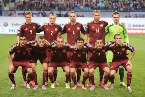 Сборная России по футболу проиграла в отборочном матче с Австрией