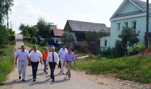 Глава Ижевска Александр Ушаков встретился с жителями Ленинского района