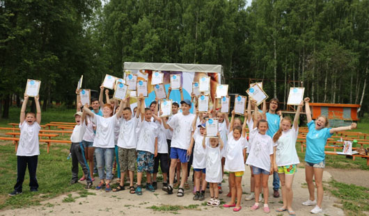 Спортивный праздник  «На старт с Ростелекомом!» состоялся в Ижевске
