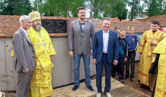 В Сигаево начато строительство храма