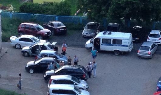 В Ижевске на улице Клубной мужчина умер в собственной машине