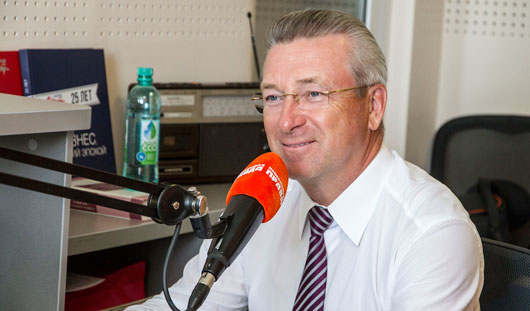 Глава Ижевска Александр Ушаков: «Управление городом – сложная и интересная работа»